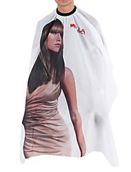 fashion branco cape corte de cabelo moderno retrato (1 pc)