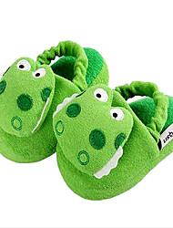 Zapatillas ( Verde ) - Comfort/Dedo redondo - Sintético