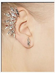 Earring Stud Earrings Jewelry Women Gemstone & Crystal / Alloy 2pcs Silver