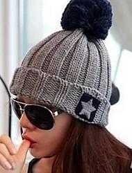 star coréenne laine de mode chapeau de femmes