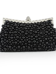 Silk Wedding / Special Occasion Clutches / Evening Handbags with Imitation Pearls