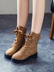 Women's Shoes Smandy Round Toe Chunky Heel Mid-Calf Boots More Colors available