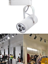 3 W 3 High Power LED 250 LM Warm White / Cool White / Natural White Track Lights AC 85-265 V