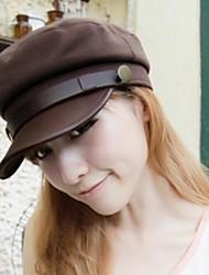 moda gorra militar personalidad unisex