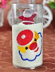 aparelhos banheiro, criativo fibra superfina toalha forma circular, de férias ou de presente de aniversário (cor aleatória)
