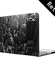 "New York City Design Full-Body Protective Plastic Case for 13""/15"" MacBook-Pro with Retina Display"