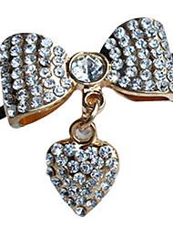 bowknot del metal acentos decorativos para los zapatos uno par