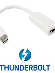 Thunderbolt Port to HDMI Female Adapter Cable with Audio Video for Apple MacBook 2011 2012 2013