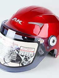 AK™ 623 ABS Material Antifog Rresistant-Wear Motorcycle Half Helmet