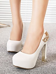Women's Shoes Platform Round Toe Chunky Heel Pumps with Rhinestone Shoes More Colors available