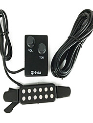 Qing Hua huang QH - 6 A Ballad Guitar Sound Hole Type Acoustic Guitar Pickup Reverberation Is Adjustable