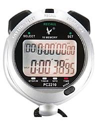 10 1 / 100s souvenirs 2 lignes de compte à rebours 10h&calendrier chronomètre numérique pour saut de sport pc2210