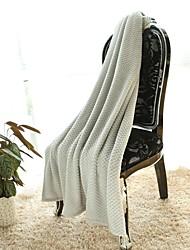 Simple&Opulence® Jacquard Spot Fleece Grey
