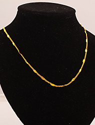Fashion24K All Match Solid Color Necklace