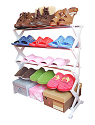 Metal Plastic Shoes Rack for Shoes Storage One PCS