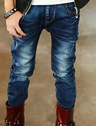 Boy's Denim Jeans,Winter / Spring / Fall Solid