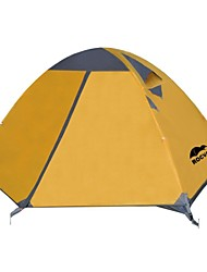 Rocvan 3 Season A091 2 Person Double Layer Tear Resistant Aluminum Camping Tent
