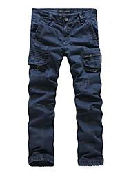 Men's Fashion Multiple Pockets Casual Pants