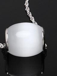 Women's Silver Lucky Opal Charm