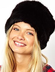 XT Women's Fuax Fur Warm Hat(Color Dispatch At Random)