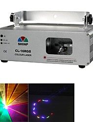 Shinp Red Green Blue laser Stage Light Lighting Aluminum Housing for Home Garden Party Effect