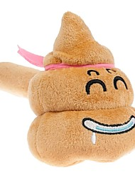 Big Smile Soft Plush Emoji Smiley Emoticon Cartoon Shit Laughing Music Sound Toy Hammer