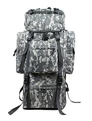 70 L Hiking & Backpacking Pack/Rucksack Camping & Hiking / Climbing / Hunting / Traveling Outdoor / Leisure SportsWaterproof / Rain-Proof