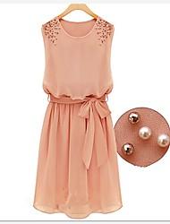 Korean Slim Elegant Sleevless Dress