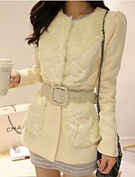 roupa de Zebro mulheres slim casaco grande quintal