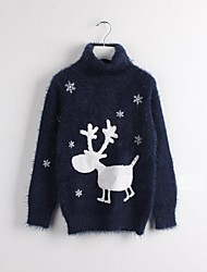 Reindeer Sweater Kids Christmas Costume