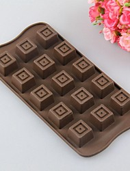 Environmental Silicone Round  Square Chocolate  Cake Mold