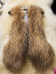 Women's Faux Mink Fur Vest