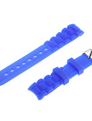 Women's 18mm Rubber Watch Strap