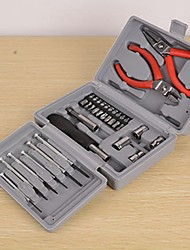 Family Potable Double Pliers Tool Set Box for Phone/Computer Repaired