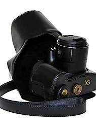 EtuisAppareil photo numérique-Canon-Résistant à la poussière-Noir Café Marron