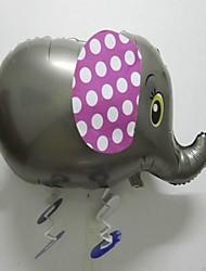 50 PC película de aluminio caminar globo wlephant (colores al azar)