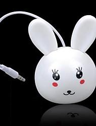 Mini niedlichen Kaninchen Cartoon Audiofunklautsprecher für iphone samsung
