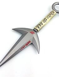 naruto 4 hokage modelo kunai liga de 23 centímetros cosplay arma