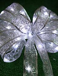 5м Рождественские декоративные волокнистые струнные светильники, батареи