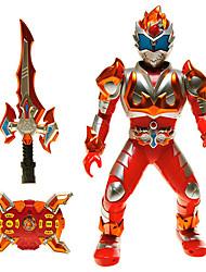 ações de controle remoto guerreiro armadura Jiaqi dançando robô com som luz