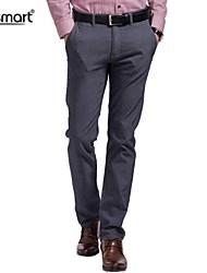 Мужские Прямые повседневные брюки