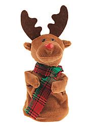 elettrico carillon peluche di Natale cervi regali di danza