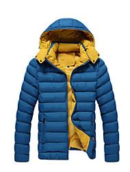 ifeymilan coton de la mode manteau de col mince pour hommes
