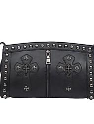 Women's  Fashion Cross Print Crossbody Bag