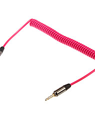 4.92ft 1.5m audio de 3.5mm macho a cable de audio de 3,5 mm estéreo extensa masculino