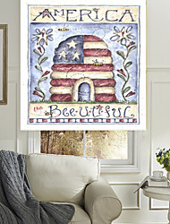 The Star-Spangled Banner House And Flowers Roller Sahde