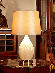 lámpara de mesa de cristal estilo sencillo