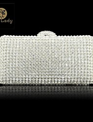 Sexlady ® Women's Bridal Purse Metal Pure Color Sexlady Handbags
