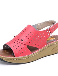 Women's Shoes Comfort Open Toe Wedge Heel  Sandals Shoes More Colors available