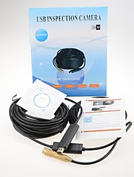 Pure Copper 20M USB Snake Scope Inspection Camera Endoscope Borescope 4 LED Waterproof Mini Hidden Camera
